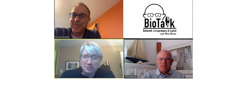 Charles Andres and Christian Barrow join BioTalk to discuss investing, growth and the BioHealth Capital Region during COVID-19