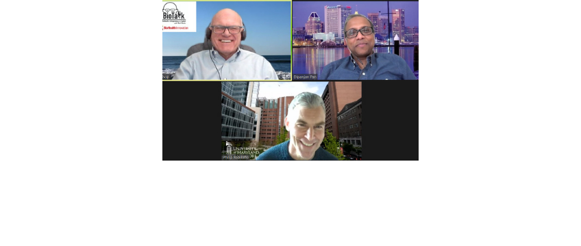 Dr. Dipanjan Pan and Phil Robilotto of the University of Maryland, Baltimore, join Rich Bendis on BioTalk