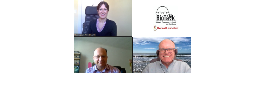 Marina Massingham, CEO, Aifred Health, & Laurent Waessa, Sr. Business Development Advisor, Québec Government Office in New York, Virtually Visit BioTalk