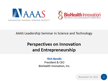 AAAS Presentation cover