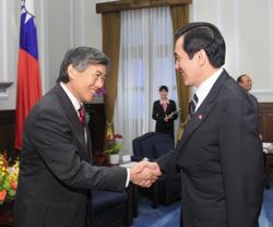 UMD President Loh Asia