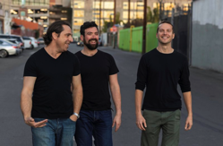 From left, Secret Chord Laboratories founders Scott Miles, David Rosen and Robert Abelow will be participating in the third 757 Accelerate startup program. Due to the coronavirus pandemic, the program will be switching to operating virtually this year. (Courtesy photo)