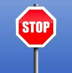 Stop Road Sign Warning Free vector graphic on Pixabay