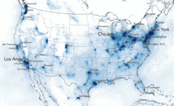 These 8 maps show the massive drop in smog caused by the coronavirus