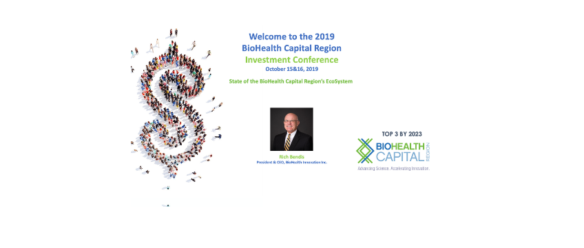 Presentation - Welcome to the 2019 BioHealth Capital Region