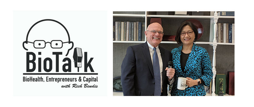 Office of Montgomery County Executive Assistant Chief Administrative Officer Lily Qi Interviewed on BioTalk with Rich Bendis Podcast