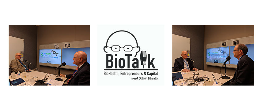 Live from the BioHealth Capital Region Forum – Part 1: Jim Jackson, SVP, CSO at Emergent BioSolutions and Jim Hughes, Vice President at University of Maryland, Baltimore